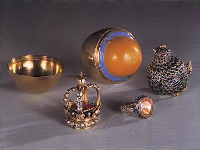 18th Century Easter Egg, Kunsthistorisches Museum, Vienna (von Habsburg, Fabergé, 1987, 315-6)