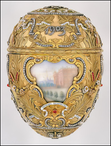 1903 Peter the Great Egg (Courtesy Virginia Museum of Fine Arts)