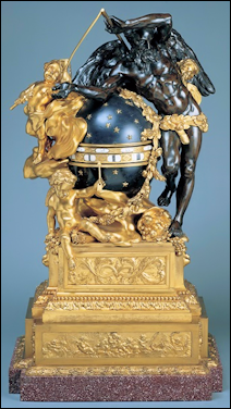 Clock by Etienne Martincourt (Courtesy Wallace Collection, London)