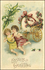 Cherub Egg with Chariot (1888)