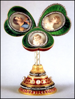 1897 Mauve Egg Surprise (3¼ in., 8.3 cm.) (Forbes, Christopher, and Robyn Tromeur-Brenner, Fabergé: The Forbes Collection, 1999, 42-45)