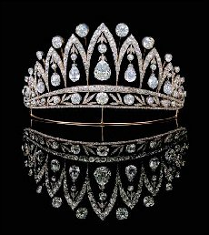 'Empress Josephine Tiara' by August Holmström, 1895. (Courtesy McFerrin Collection; Fabergé Research Newsletter, Winter 2009-10)