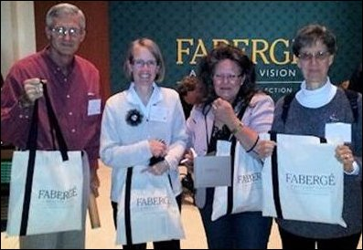 Fabergé Enthusiasts Posing for the Camera (Courtesy of Fabergé Enthusiasts)