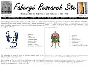Fabergé Research Newsletter Symposium Flyer