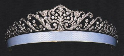 Fabergé Tiara by Fedor Afanasiev (Courtesy Albion Art Company, Ltd.; Wartski, Fabergé and the Russian Jewellers, A Loan Exhibition, 2006, 95 and 102, item 274)