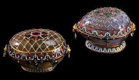 Fabergé Renaissance Egg (Fabergé Museum, St. Petersburg, Russia)