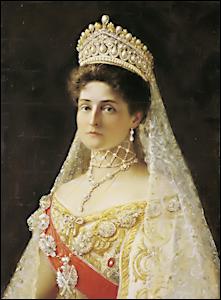 Consort Alexandra Feodorovna 1872 1918