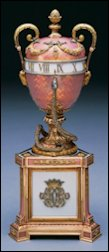 Duchess of Marlborough Egg (Courtesy Fabergé Museum, St. Petersburg, Russia)