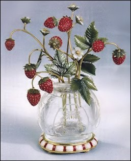 Wild Strawberries and Anemones (Robert Strauss Collection, Christie's London, March 9, 1976, Strawberries realized £39,600, Anemones £20,090)