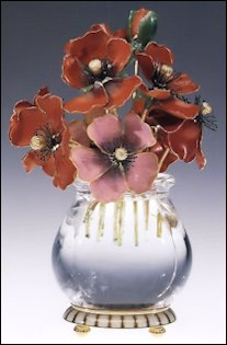 Anemones (Keefe, Masterworks of Fabergé: The Matilda Geddings Gray Foundation Collection, 2008, 74-5)