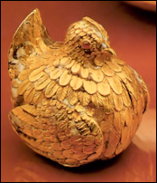 Saxon Royal Egg, Collection of Augustus the Strong (1670-1733) (Courtesy Géza von Habsburg)