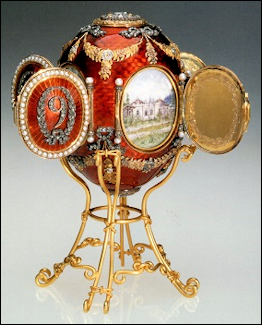 Caucasus Egg (Keefe, Masterpieces of Faberge: The Matilda Gray Foundation Collection, 2008, 84)