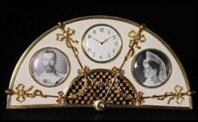 Timepiece/Photograph Frame - Fan - Olsen Kovsh (Courtesy Khalili Family Trust)