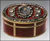 1889 Bismarck Box - Alexander III Imperial Presentation Box (Hodges Family Collection)