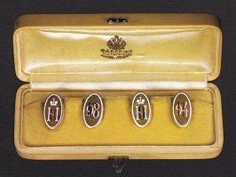 Fabergé Cufflinks (Courtesy Wartski)