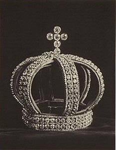 Nuptial Crown, Fersman Portfolio, ca. 1922 (Courtesy Heritage Auction Galleries)