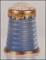 Fabergé Thimble by M. Perchin