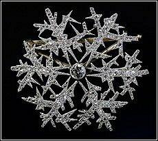 Alma Pihl Snowflake Brooch