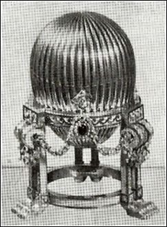 1887 Third Imperial Egg (Courtesy Parke Bernet)
