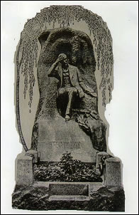 1913 Photo of the Original Monument by Maria Dillon