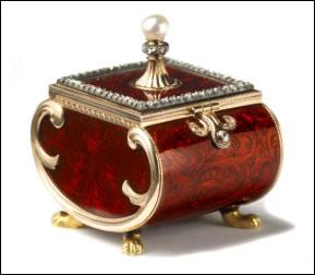 Fabergé Bonbonniere (Courtesy Wartski)