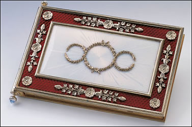 Queen Victoria's Fabergé Notebook (Courtesy The Royal Collection)