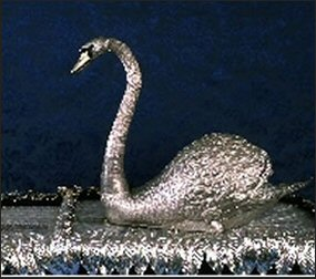 Silver Swan (Courtesy Bowes Museum)