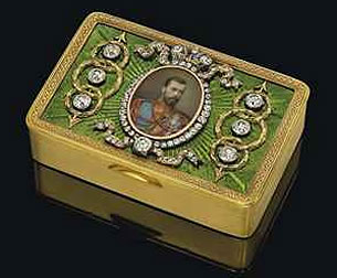 1984 Nicholas II Imperial Presentation Box (Courtesy Christie's London)