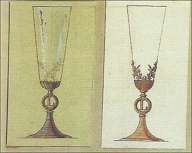 Champagne Flutes (Courtesy Christie's and Fabergé Revealed, 2011, 162-3)