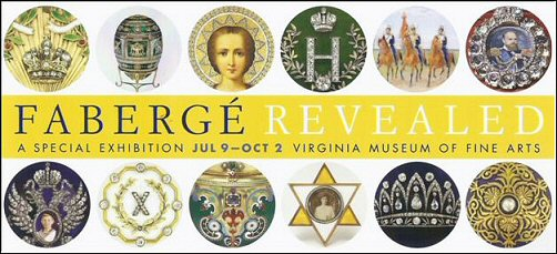 Fabergé Revealed exhibition in Richmond