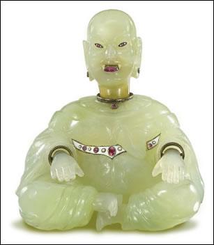 Fabergé Magot (Courtesy Christie's)