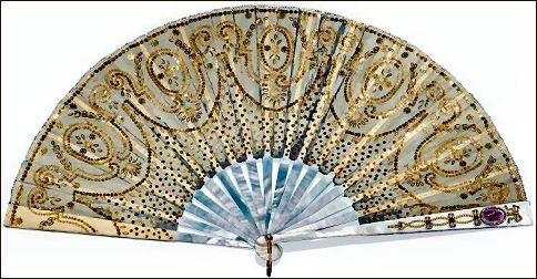 Princess Victoria Fan, Harewood Auction (Courtesy Christie's London)