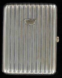 Cigarette Case Marked as Fabergé (Courtesy Pantbanken Sverige)