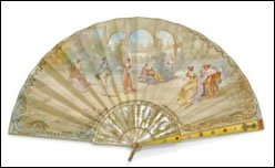 Wigström Fabergé Fans (Courtesy Sotheby's London)