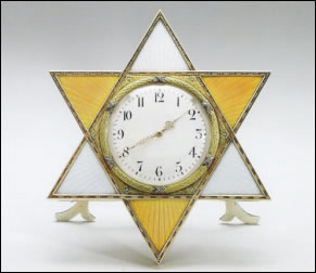 Star Frame Clock (Courtesy Royal Collection)