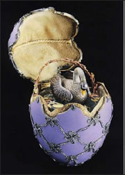1906 Imperial Swan Egg (ForbesLife, September 2011, 44)