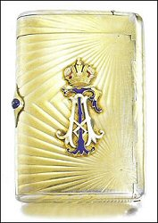 Alexander Tillander Cigarette Case (Courtesy Sotheby's London)