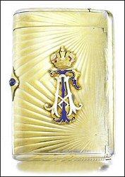 Alexander Tillander Cigarette Case (Courtesy Sotheby's London)