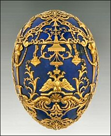 1912 Tsarevich Egg (Courtesy Virginia Museum of Fine Arts)