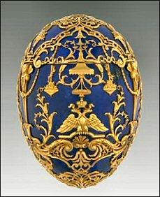 1912 Tsarevich Egg (Courtesy Virginia Museum of Fine Arts)
