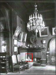 Nicholas II Winter Palace Study - Detail (Courtesy of the Author)