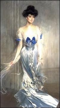 'Birdie' Vanderbilt Painting by Giovanni Boldini