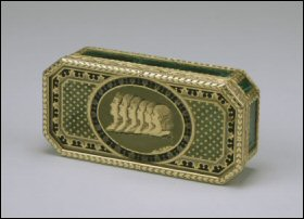 Cigarette Box, Reversed (Courtesy Walters Art Museum)