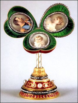 1897 Fabergé Miniature Surprise for the Mauve Easter Egg (Forbes, Christopher, and Robyn Tromeur-Brenner, Fabergé: The Forbes Collection, 1999, 42-45)