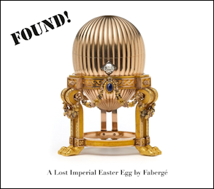 More views of the Third Imperial Egg (Courtesy Wartski)