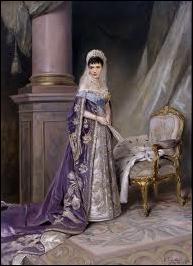 Empress Maria Feodorovna by Vladimir Makovsky, ca. 1912 (Wiki)