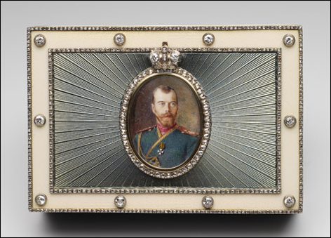 Imperial Presentation Box, 1916 (Courtesy of the Royal Collection, London)