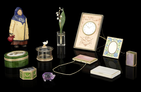 Fabergé Objects from a Single Owner Collection June 4, 2014 Bonhams London Russian Sale