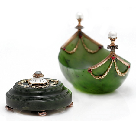 Bell Push and Salt Cellar June 11, 2014 Bruun Rasmussen Auctioneers, Copenhagen Russian Art and Antiques