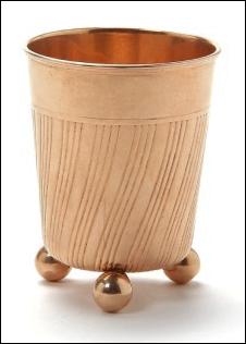 Gold Cup by Henrik Wigström (Courtesy Bruun Rasmussen Auctioneers)